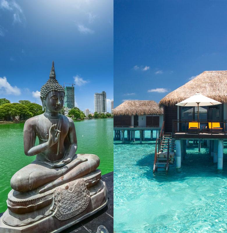 Sri Lanka + Maldives Luxe Villa Life